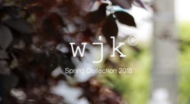 2017年9月1日(金) wjk Spring Collection 2018 予約開始