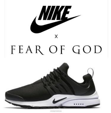 2018年 ナイキ エアプレスト x フィアオブゴッド 発売?(Nike Air Presto x  FEAR OF GOD)