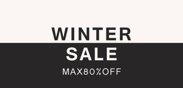 2018年1月 MAX80%OFF新春初売りセール UNITED ARROWS、SHIPS、BEAMS、JOURNAL STANDARD、メゾン・キツネ、マッキントッシュ、ザ・ノースフェイス など