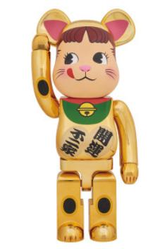 2018年1月20日(土) BE@RBRICK 招き猫 ペコちゃん 金メッキ 1000%発売