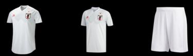 2018年3月20日(火) アディダス(adidas)サッカー日本代表 グッズ・ユニフォーム 先行予約開始