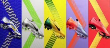2018年4月20日(金) W杯過去5大会 ナイキ マーキュリアル スーパーフライ/ヴェイパー 360 エリート ID 発売