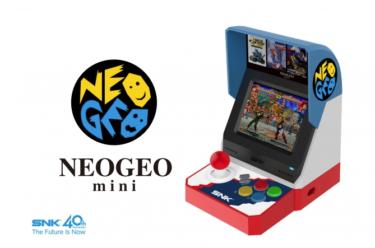 2018年7月24日 SNKブランド40周年 記念 NEOGEO mini(ネオジオ ミニ) 発売