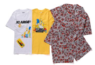 2018年7月27日(金)12時 エクストララージ x ザ・シンプソンズ 発売(XLARGE × The Simpsons)
