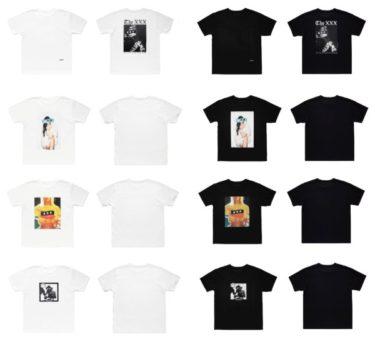 2018年8月25日(土)0時 ゴッドセクレション XXX 新作Tシャツ 発売(GOD SELECTION XXX)