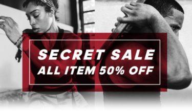 2018年8月26日(日)まで【対象商品全て50%OFF】adidas Online Shop シークレットセール開催(アディダス)