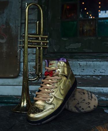 """2018年9月15日(土) / 9月22日(土) ヒュミィダティ x ナイキ SB ダンク """"トランペット""""(Humidity x Nike SB Dunk High """"Trumpet"""")"""