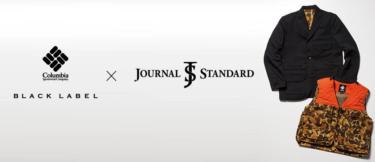 2018年9月14日(金) コロンビア ブラックラベル x ジャーナルスタンダード 発売(COLUMBIA BLACK LABEL × JOURNAL STANDARD)