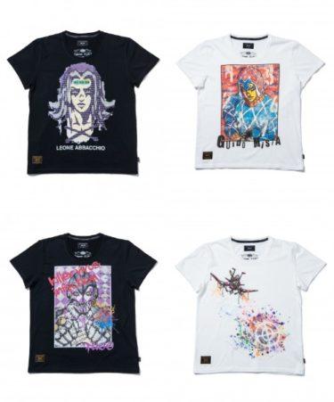 2018年9月21日(金) glamb x ジョジョの奇妙な冒険 黄金の風 コラボレーションTシャツ 発売