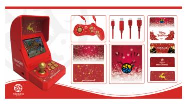 2018年近日 ネオジオ ミニ クリスマス限定版 発売(NEOGEO mini Christmas Limited Edition)