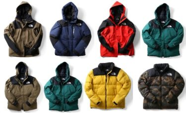 2018年11月20日(火)12時 THE NORTH FACE 冬物人気アイテム一斉 発売(Mountain Down Jacket / Baltro Light Jacket / Mountain Jacket / Mountain Light Jacket / Belayer Parka / Camp Sierra Short / Nuptse Jacket)