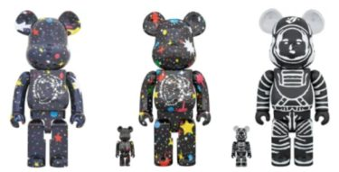 2018年11月25日(日)12時 BE@RBRICK x BILLIONAIRE BOYS CLUB STARFIELD BLACK 100% & 400% / TARFIELD 1000% / ASTRONAUT BLACK 100% & 400% 発売