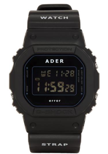 2018年11月30日(金) アーダーエラー x Gショック 発売(Ader Error x G-Shock DW-5600ADER-1DR)