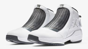 2019年1月5日(土) ナイキ エアジョーダン 19 White/Chrome/Flint Grey 発売(Nike Jordan Air Jordan 19 Aq9213-100)