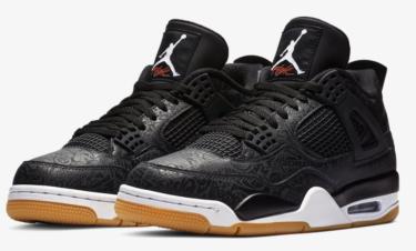 2019年1月19日(土)17時 ナイキ エアジョーダン 4 レトロ レザー 発売(Nike Air Jordan 4 Retro SE Laser Ci1184-001)