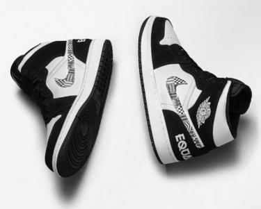 """2019年2月2日(土) ナイキ エアジョーダン 1 ミッド """"イクアリティ"""" 発売(Nike Air Jordan 1 Mid """"Equality"""" 852542-010)"""