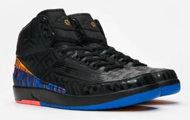 2019年2月1日(金) ナイキ エアジョーダン 2 レトロ BHM 発売(Nike Air Jordan 2 Retro BHM Bq7618-007)
