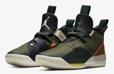 2019年2月14日(木)17時 ナイキ エアジョーダン 33 x トラヴィス・スコット 発売(Nike Air Jordan XXXIII x Travis Scott Cd5965-300)