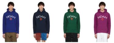 2019年2月19日(火) Noah NYC(ノア)ロゴフーディー 発売