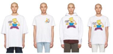 2019年2月19日(火) オフ・ホワイト x シンプソンズ コラボアイテム 発売(Off-White x Simpsons)