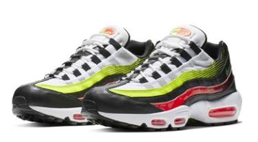 2019年4月12日(金) ナイキ エアマックス 95 SE BLK/ALVRD 発売(Nike AIRMAX 95 SE AJ2018-004)