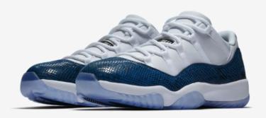 2019年4月19日(金)9時 ナイキ エアジョーダン 11 LOW スネークスキン 発売(Nike Air Jordan 11 Low SNAKESKIN CD6846-102)