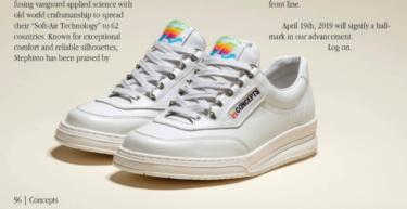 """2019年4月19日(金) コンセプツ x メフィスト""""アップル""""スニーカー 発売(Concepts x Mephisto """"Apple"""" Sneaker)"""