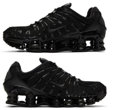 2019年5月11日(土) ナイキ ショックス TL ブラック 発売(Nike Shox TL Bv1127-001)