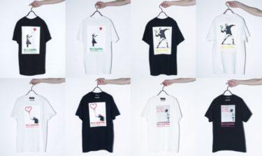 2019年7月上旬 ナノ・ユニバース バンクシー Tシャツ 発売(nano・universe Banksy)