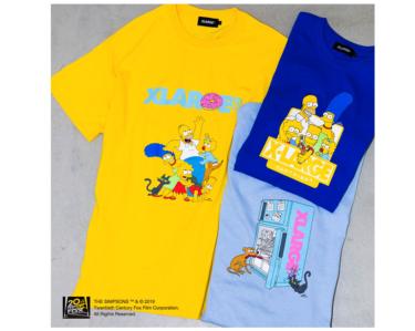 2019年7月20日(土)12時 ザ・シンプソンズ x エクストララージ(The Simpsons × XLARGE)発売