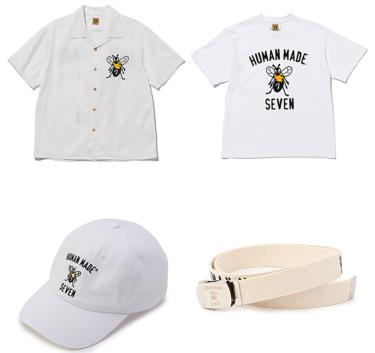 2019年7月20日(土) NAOTO スタジオ セブン x ヒューマンメイド 発売(STUDIO SEVEN x HUMAN MADE)