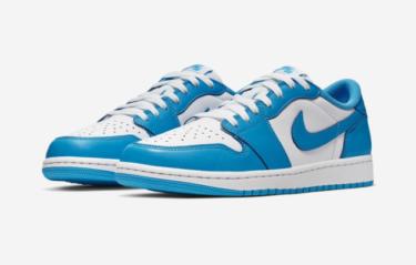 """2019年8月10日(土) / 12日(月) ナイキ エアジョーダン 1 ロー """"ノースカロライナブルー"""" 発売(Nike SB Air Jordan 1 Low """"North Carolina Blue"""" Cj7891-401)"""