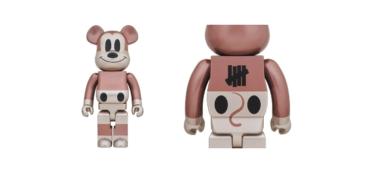 2019年9月28日(土)12時 ベアブリック x アンディフィーテッド ミッキーマウス 1000% 発売