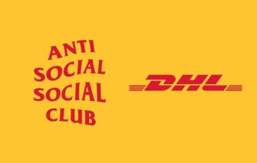 2019年9月25日(水) アンチソーシャルソーシャルクラブ x  DHL 発売