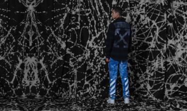 """2019年9月28日(土) END. x オフホワイト """"ケミカルウォッシュ""""チェックシャツ 発売"""