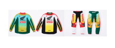 2019年10月5日(土)11時 シュプリーム x ホンダ x フォックスレーシング(Supreme x Honda x Fox Racing)発売