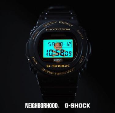 2019年10月13日(日) Gショック x ネイバーフッド DW-5750 発売