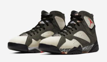 2019年10月18日(金) パッタ x ナイキエアジョーダン 7 アィシィクル(Patta x Nike Air Jordan 7 Icicle)発売