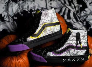 """2019年10月25日(金) サイズ? x ヴァンズ Sk8-Hi """"ハロウィーン""""(size? x Vans Sk8-Hi """"Halloween"""")発売"""