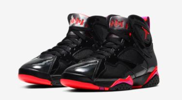 2019年10月31日(木)9時 ナイキ エアジョーダン 7 ブラックグロス(Nike Air Jordan 7 BLACK GLOSS)発売