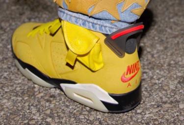 """2020年 トラヴィス・スコット x ナイキ エアジョーダン 6 """"イエローカクタス・ジャック""""(Travis Scott x Nike Air Jordan 6 Yellow Cactus Jack)発売か?"""
