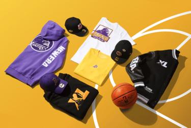 """2019年11月15日(金)12時 エクストララージ x ニューエラ x NBA """"レイカーズ & クリッパーズ""""(XLARGE × New Era × NBA """"Lakers & Clippers"""")発売"""