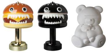 2019年11月23日(土)12時 アンダーカバー ハンバーガー アンプ(UNDERCOVER HAMBURGER LAMP)&ベアーフロアランプ(BEAR FLOOR LAMP)発売