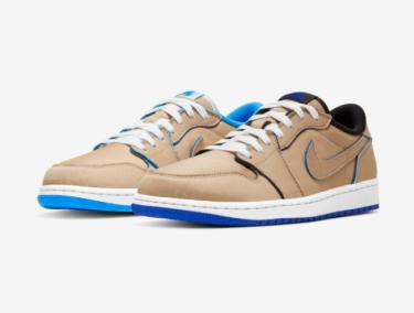 """2019年12月9日(月)9時 ナイキ SB x エアジョーダン 1 ロー """"デザートワン""""(Nike SB x Air Jordan 1 Low """"Desert Ore"""")発売"""