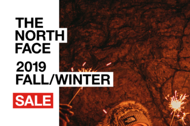 2019年12月26日(木) THE NORTH FACE(ザ・ノースフェイス)2019FALL/WINTER セール開催