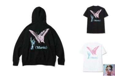 2019年12月22日(日)9時まで 48時間限定 マニック + Verdy x Halsey 限定 Tシャツ・フーディー発売