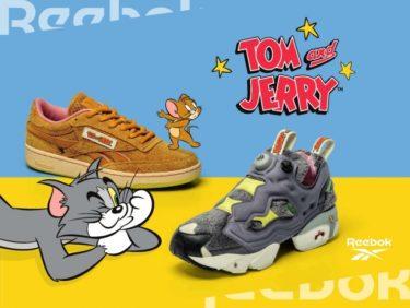2020年1月28日(火)順次発売 リーボック クラシック x 人気アニメ「トムとジェリー」(Reebok × Tom & Jerry)発売