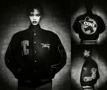 2020年1月15日(水) ステューシー x コム・デ・ギャルソン 40周年記念バーシティジャケット 発売