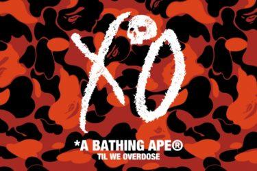 A BATHING APE x The Weeknd「xo」3nd Capsule 2020年1月11日(土) 発売